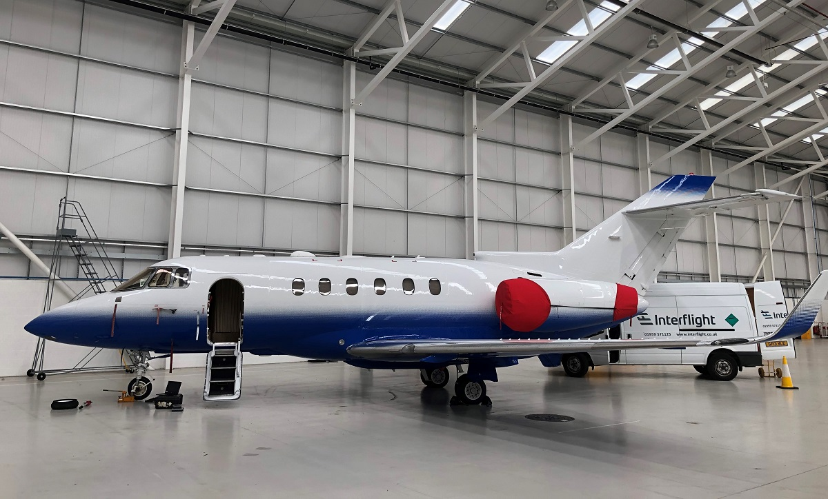 Hawker900xp AOG call-out in Birmingham